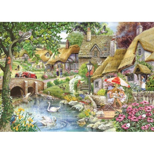 1000 Piece Jigsaw Puzzle - Morning Coffee