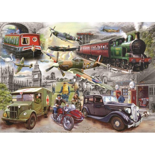 1000 Piece Jigsaw Puzzle - Fading Memories