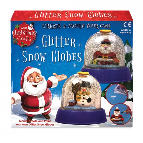 Glitter Snow Globe