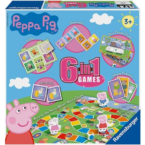 Peppa Pig-6 in 1 Set