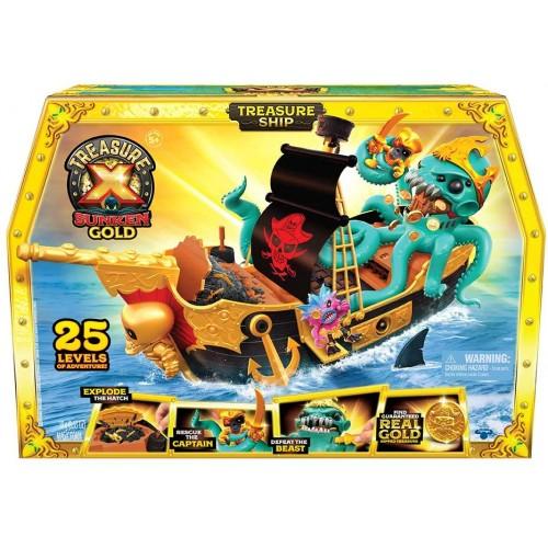 Treasure X Gold Treasure Ship - Instock
