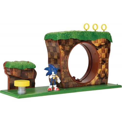 Green Hill Zone Playset