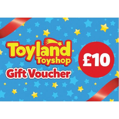 £10 Toyland Toyshop Gift Voucher