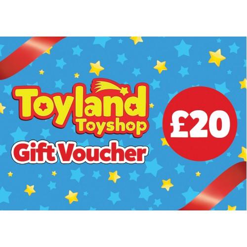 £20 Toyland Toyshop Gift Voucher