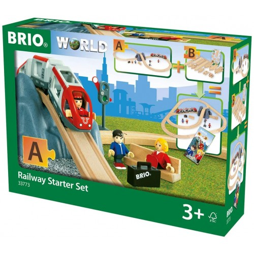 BRIO World Railway Starter Train Set