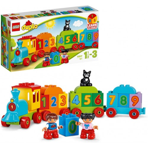 10847 DUPLO My First Number Train