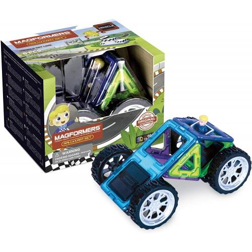 Magformers 707016 Rally Kart Boy racer Construction Set