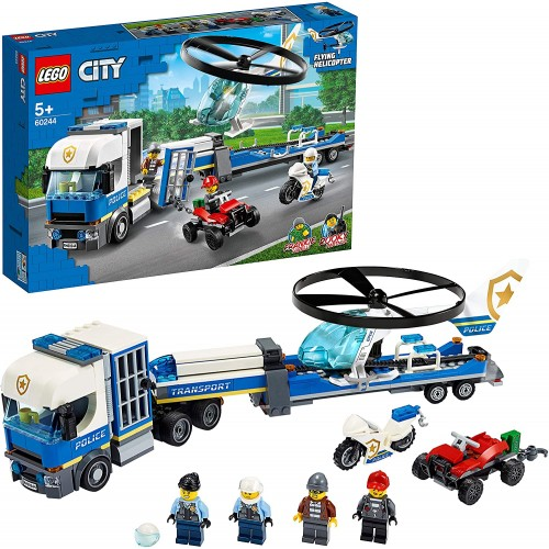 60244 City Police Helicopter Transport