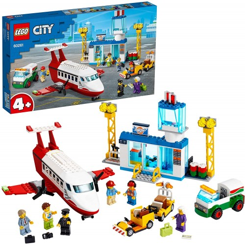 LEGO 60261 City 4+ Central Airport Playset