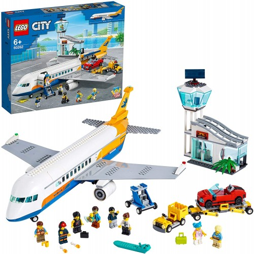 LEGO 60262 City Airport Passenger Airplane, Terminal
