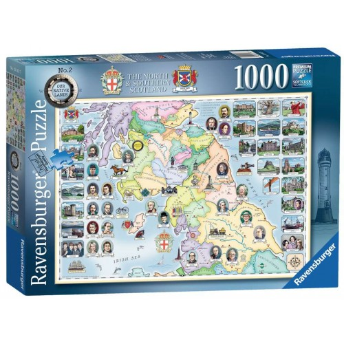 Our Native Lands No.2, The North & Southern Scotland, 1000pc