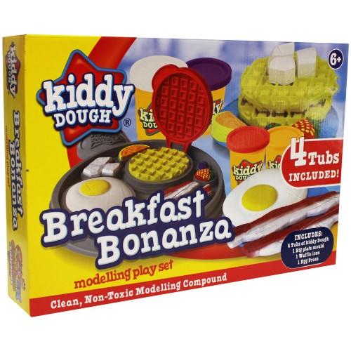 Kiddy Dough Breakfast Bonanza Modelling Play Set