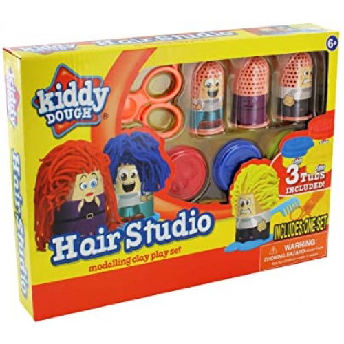 Hair Studio Modelling Dough Play Set