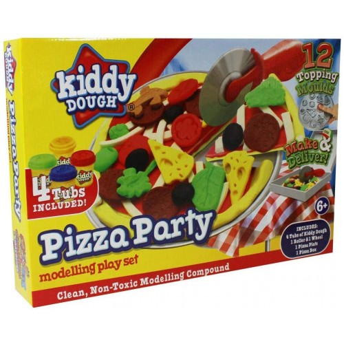 Pizza Party Modelling Dough Play Set