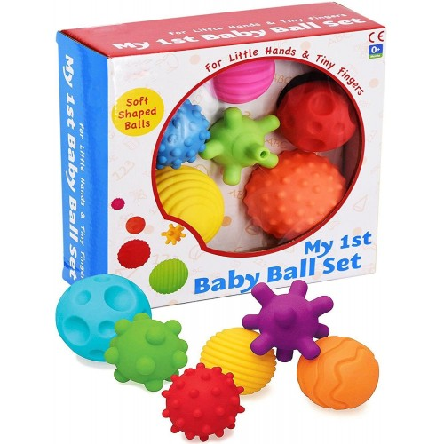 My First Baby Multi Textured Sensory Soft Balls