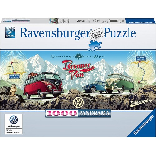 15102 Cross The Alps with VW Panoramic Jigsaw