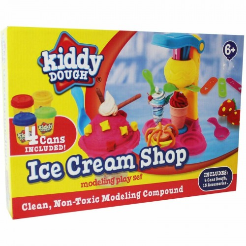 Kiddy Dough Ice Cream Shop Modelling Play Set
