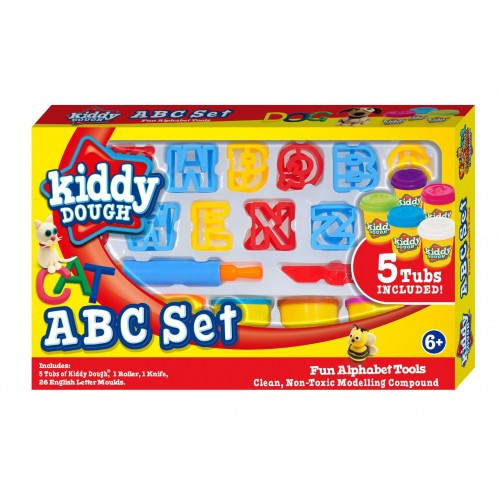 Kiddy Dough Kids ABC Set
