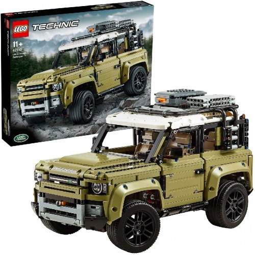 42110 Technic Land Rover Defender Off Road 4x4 Car