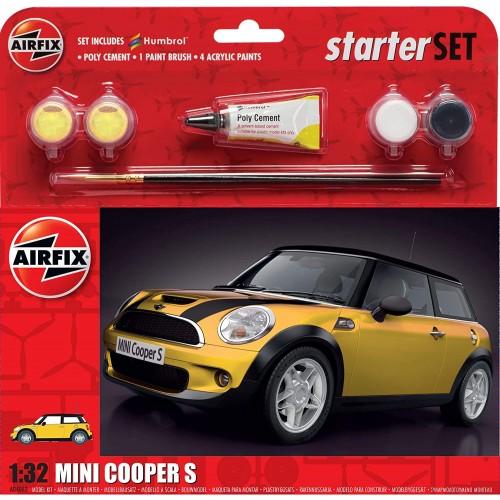 Airfix A55310 Mini Cooper S Large Starter Set