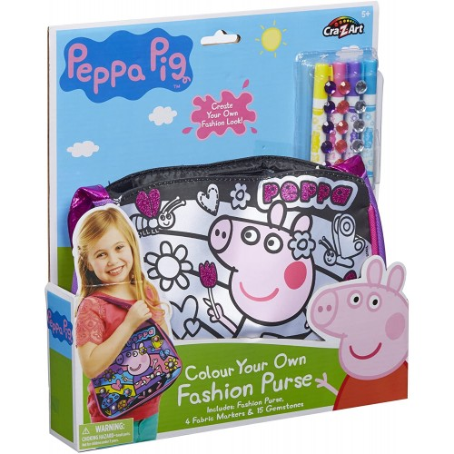 Peppa Pig Colour Your Own Tote Bag