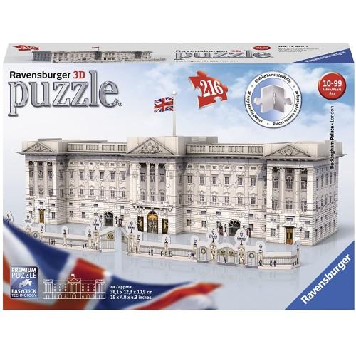 Ravensburger Buckingham Palace, 216pc 3D Jigsaw Puzzle