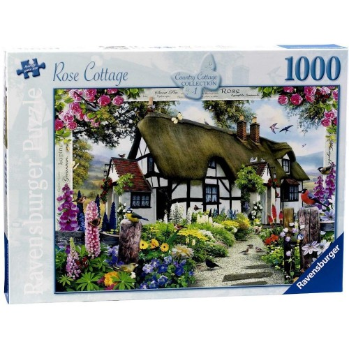 Ravensburger 15585 Country Cottage Collection Rose Cottage 1000pc