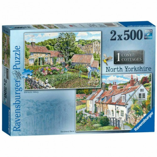 Ravensburger - Cosy Cottages North Yorkshire 2 X 500pc Puzzle