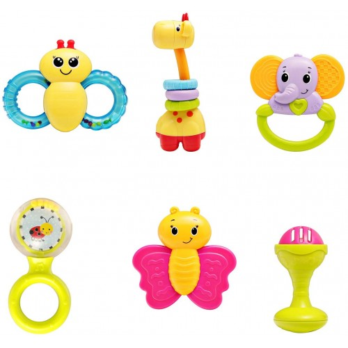 infunbebe Baby Rattles Teether Toy