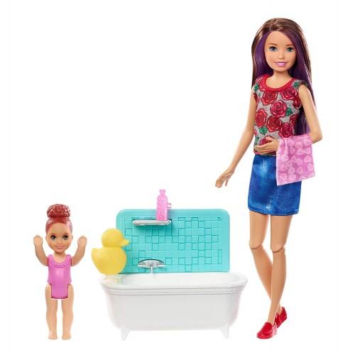 Barbie Babysitters  Bath Time Fun