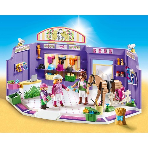 Playmobil 9401 City Life Horse Tack Shop
