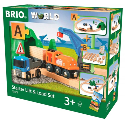 BRIO World - Starter Lift & Load Set A