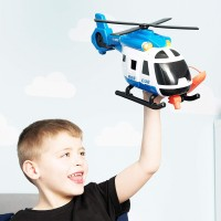 Large Light & Sound Rescue Helicopter