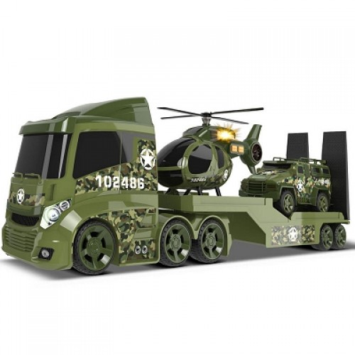 Military Helicopter Transporter